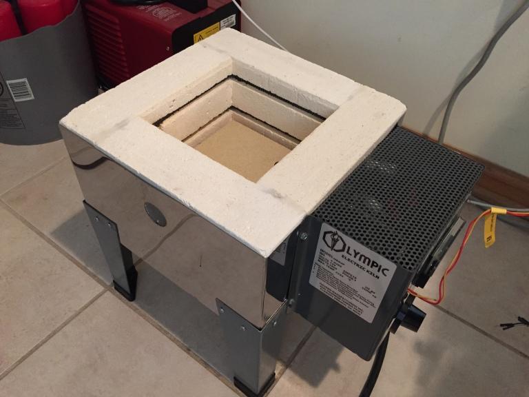 Firing CNC Machined Parts Using an Arduino Kiln Controller